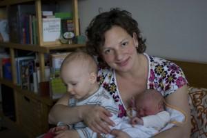 Děti s maminkou