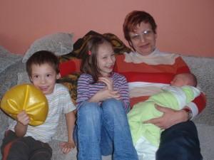 Děti s Ivanou
