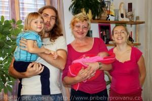 Rodina s Ivanou