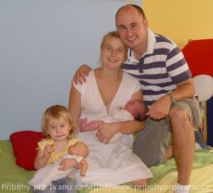 Natálka s rodinou