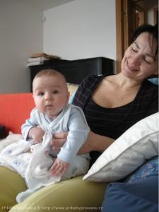 Tomášek s maminkou