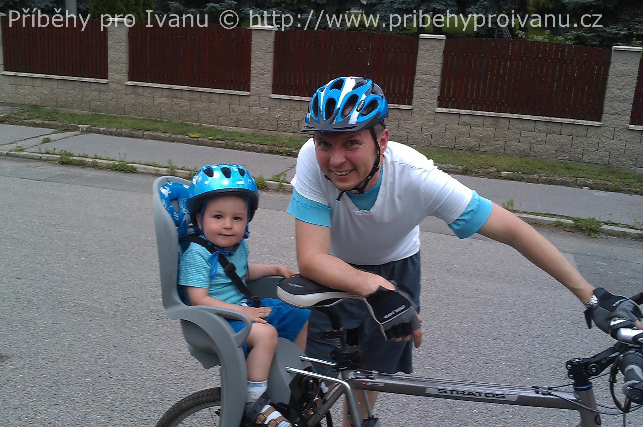 Tomášek s tatínkem