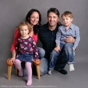 Rodina Malenovských na Sametový porod