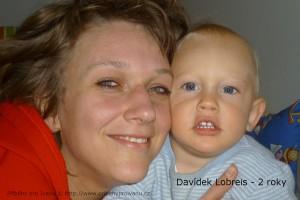 Davídek Lobreis - 2 roky