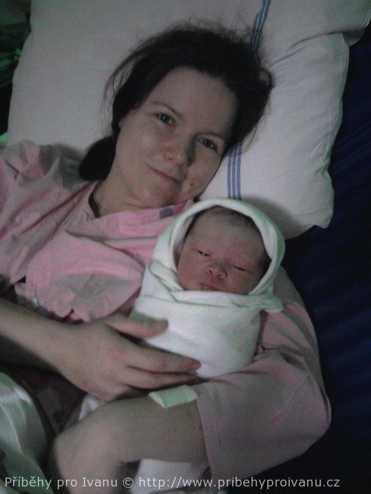 Jindříšek s maminkou