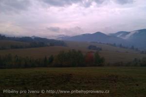 Horehronie - Nad Valkovňou