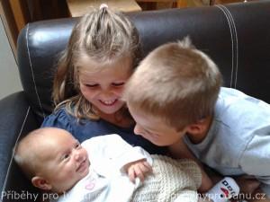 Mariánka se sourozenci