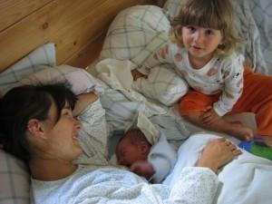 31.7.2007 ráno, kdy se Vítek narodil