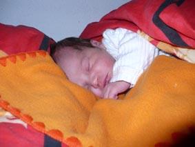 Spící Sára