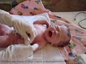 Separované miminko