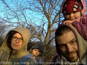 Čtyřčlenná rodina