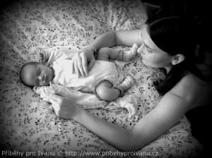Po příjezdu z porodnice