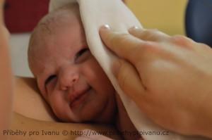 Miminko po porodu